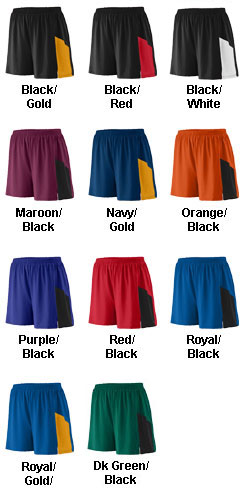 Augusta Youth Sprint Track Short - All Colors