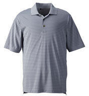 Custom Mens Adidas Golf ClimaLite Pencil Stripe Polo