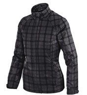 Locale Ladies Lightweight City Plaid Jacket