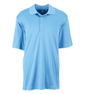 Custom Ashworth Men�s Performance Interlock Solid Polo