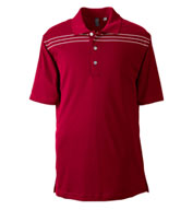 Ashworth Mens Performance Interlock Print Polo