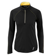 Custom Ash City Ladies Radar Half-Zip Performance Long Sleeve Top