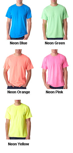 Gildan Adult Neon Solid Pigment-Dyed Tee - All Colors