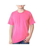 Custom Gildan Youth Neon Solid Pigment-Dyed Tee