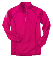 Custom PING Ladies� Ranger Quarter Zip Pullover