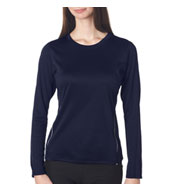Custom New Balance Ladies Tempo Long-Sleeve Performance T-Shirt