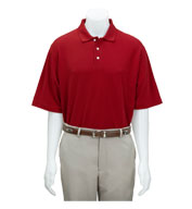 Custom Greg Norman Adult Easy-Care Pique Polo Mens
