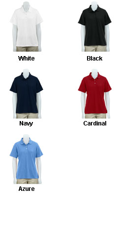 Greg Norman Womens Easy-Care Pique Polo - All Colors