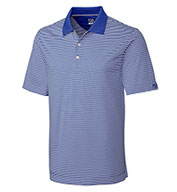 Custom Cutter & Buck Polo CB Drytec Trevor Stripe In Big and Tall Sizes Mens