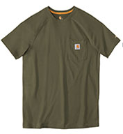 Custom Force� Cotton Short Sleeve T-Shirt from Carhartt Mens