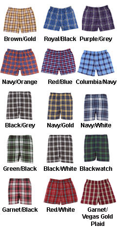 Adult Classic Flannel Boxer - All Colors