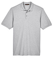 Custom Men's Ringspun Cotton Pique Short-Sleeve Polo