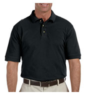 Custom Men�s Ringspun Cotton Pique Short-Sleeve Polo in Tall Sizes Mens