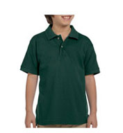 Youth Ringspun Cotton Pique Short-Sleeve Polo