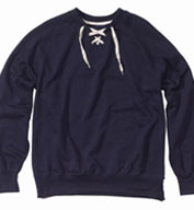 Mens Hockey Crewneck Sweatshirt by MV Sport