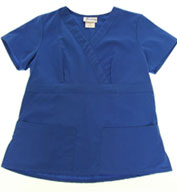 Custom Shapper Fitted Two Pocket Scrub Top by Spectrum Uniforms