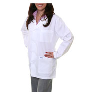 Custom 34 Inch Unisex Lab Coat by Spectrum Uniforms