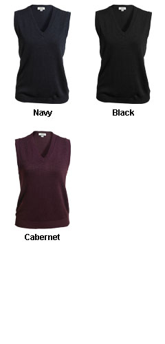 Ladies Sweater Vest - All Colors