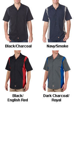 Dickies Adult Industrial Color Block Shirt - All Colors