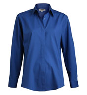 Womens Cafe Long Sleeve Shirt