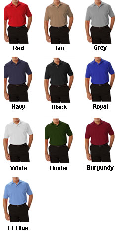 Mens Short Sleeve Superblend Polo In Tall Sizes - All Colors