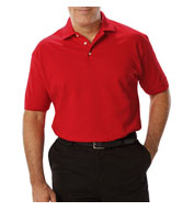 Custom Mens Short Sleeve Superblend Polo In Tall Sizes