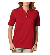 Ladies Short Sleeve Superblend Polo