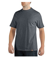 Custom Dickies� Short Sleeve 100% Cotton Pocket Tee Mens