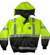 Custom ANSI/ISEA Municipality Jacket with Hideaway Hood Mens