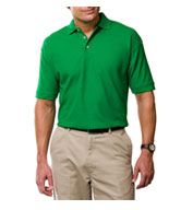 Custom Mens Egyptian Ringspun Cotton Pique Polos Mens