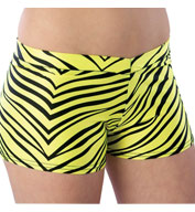 Custom Adult Animal Print Hot Short