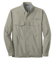 Custom EddieBauer® Long Sleeve Performance Fishing Shirt