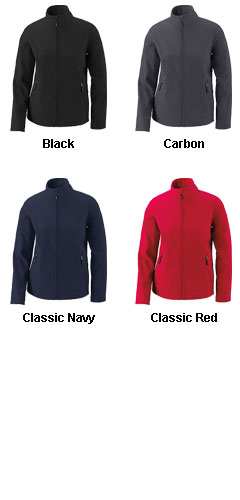 Cruise CORE365™ Ladies 2 Layer Fleece Bonded Soft Shell Jacket - All Colors