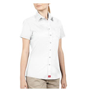 Dickies Juniors Short Sleeve Button-Down Shirt