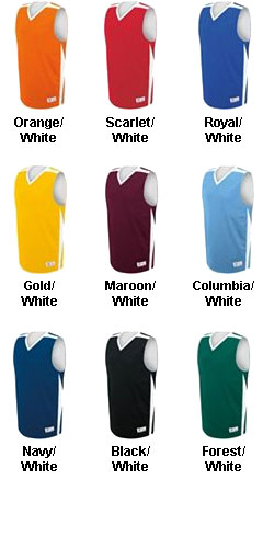 Youth Fusion Reversible Game Jersey - All Colors