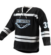 Custom Youth Warrior Turbo Hockey Game Jersey