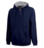 Custom Stratus Full Zip Hooded Sweatshirt by Charles River Apparel Mens