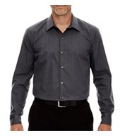 Custom Boardwalk Mens Striped Taped Shirt