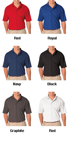 Mens Tall Moisture Wicking Polo - All Colors