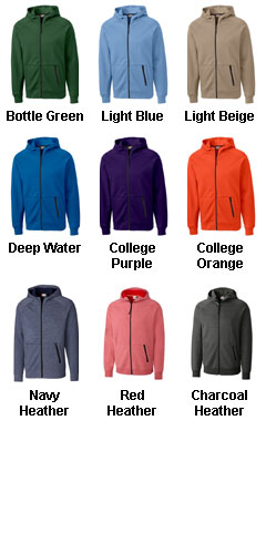 Mens Fleece Full Zip Hoodie - All Colors