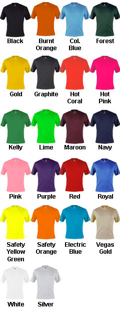 Badger C2 Adult Performance Tee - All Colors