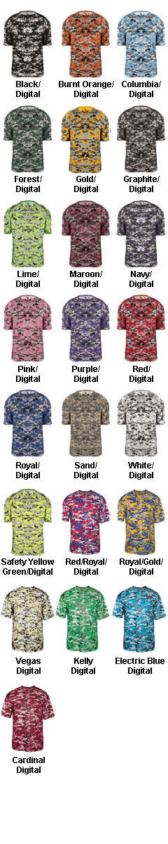 Badger Youth B-Core Digital Tee - All Colors