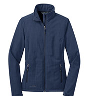 Eddie Bauer™ Ladies Shaded Crosshatch Soft Shell Jacket