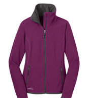 Eddie Bauer® Ladies Vertical Fleece Full Zip Jacket