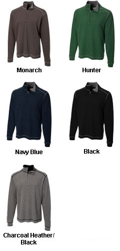Mens Cutter and Buck Overtime Half Zip In Big and Tall Sizes - All Colors