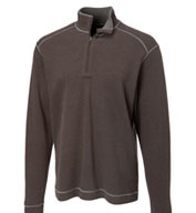 Mens Cutter and Buck Overtime Half Zip