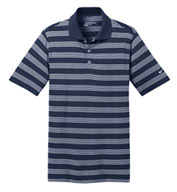 Custom Mens Nike Golf Dri-FIT Stripe Polo Mens