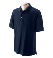 Mens Pima Piqué Short-Sleeve Polo in Tall Sizes