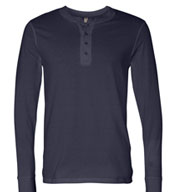 Custom Mens Long Sleeve Henley Jersey Mens