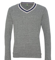 Alternative Apparel Eco Cashmere V-Neck Sweatshirt